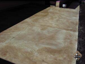 Patio Decorative Concrete Overlay