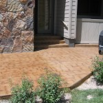 Retrofit Cobblestone Stamp New Look Stain