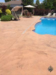 Restored New Look Pool Deck