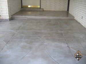 Slate Gray Stone Entry