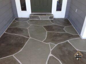 Slate Stone Entry Grays