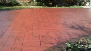 Renewed Stamped Concrete