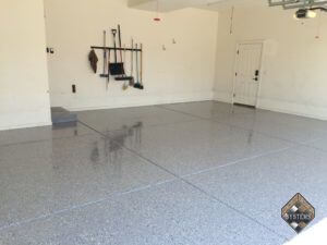 Haze Gray Epoxy With White/Black/Gray Chips