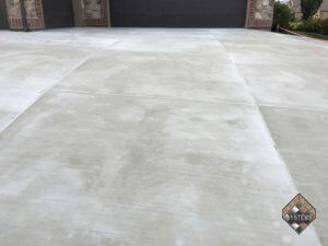 Standard Gray Concrete Overlay