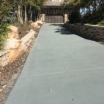 Colored Concrete Sealer Over Overlay