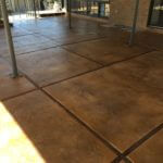 Cherokee Stained Patio Overlay