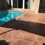 Desert Rose Stone Pattern With Grout Line