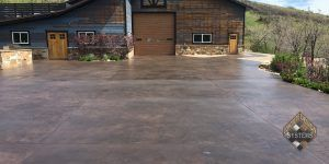 Restored Stamped Concrete In Wanship