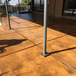 Cherokee Stained Concrete Deck