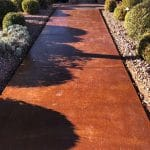 Weathered Terracotta Acid Stain